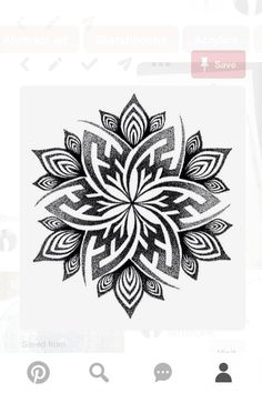 Tattoo Ideas Female Discover Mandala Handpoke Tattoo Design - C A Wills by Chris-Anthony-Wills on deviantART Mandala Tattoo Design, Dotwork Tattoo Mandala, Design Tattoo, Tattoo Designs, Tattoo Ideas, Henna Designs, Fractal Tattoo, Maori Tattoo Arm, Floral Mandala Tattoo