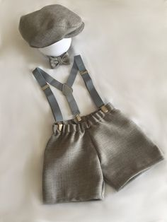Light Grey Baby boy Birthday Birthday dress up.Vintage paperboy by BuBBlingBoutique on Etsy Baby Boy Fashion, Toddler Fashion, Toddler Outfits, Boy Outfits, 1st Birthday Dresses, Baby Boy 1st Birthday, Baby Boy Haircuts, Baby Boy Quilts, Cake Smash Outfit