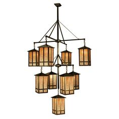 82 Best Craftsman Chandeliers Images