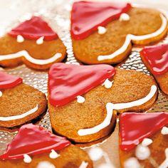 Tonttupiparit // Gingerbread Santas Food & Style Annika Elomaa Photo Anna Huovinen Maku 6/2009, www.maku.fi