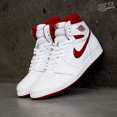 wholesale dealer a1cc0 5baa9 Air Jordan 1 Retro High OG (white varsity red) in the original Chicago