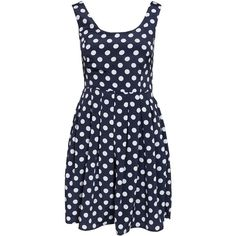 Only Olympia S/L Short Dress ($38) ❤ liked on Polyvore featuring dresses, vestidos, robe, navy blazer, party dresses, womens-fashion, short blue dresses, blue dress, mini dress and navy cocktail dress
