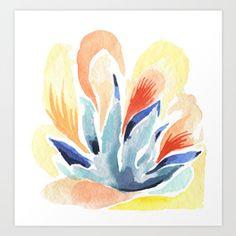 Perky Flower Art Print