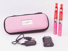 Here is our new Lizard deluxe Kit in pink. You can get one here: http://www.lizardjuice.com/hardware/lizard-e-cigs-eGo-t