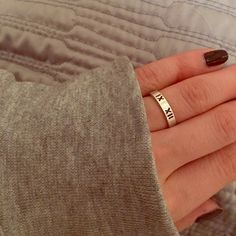 2b826edd1 Tiffany Atlas Ring SZ 6. Like new. Mint condition. Debating whether I want