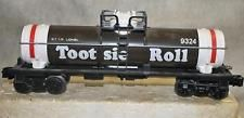 Lionel 9324 O Scale Tootsie Roll Single Dome Tank Car Displayed Only Toy Trains, Model Trains, Tootsie Rolls, Train Car, Layouts, Monster Trucks, Scale, Candy, Ideas