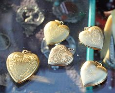 These would look wonderful grouped under a glass bell.