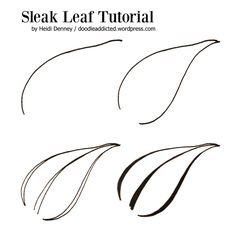 Sleak Leaf Tutorial by Heidi Denney