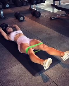 Gym Workout Videos, Ab Workout At Home, Butt Workout, At Home Workouts, Basic Workout, Workout Plans, Beginner Ab Workouts, Ab Workouts With Weights, Morning Ab Workouts