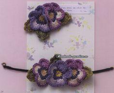 Girly Accessories 2014. Вязаная крючком бижутерия  #вязаниекрючком #crochet #handmade #crafts #описание #схемывязания