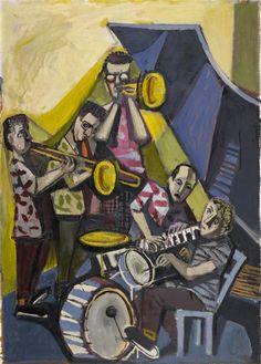 Otto Dix - Jazzkapelle