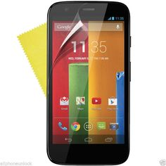 LOCA HD CLEAR TEMPERED W/ 9H HARDNESS GLASS LCD SCREEN GUARD FOR MOTO G.
