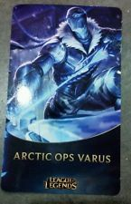 Free League of legends Arctic Ops Varus Riot ward skins code