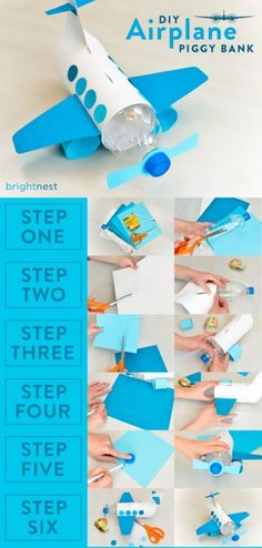 What to do with plastic pop bottles - A girl and a glue gun