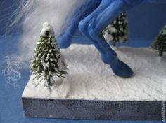 Создаем имитацию снега и инея - Ярмарка Мастеров - ручная работа, handmade МАСТЕР-КЛАСС