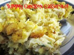 Chicken Casserole... this stuff is amazing!!