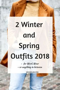 2 Winter and Spring outfits for for Work Wear and anything in between, formal but also retro and creative looks. Click through to check them out ! Mom Outfits, Spring Outfits, Casual Outfits, I Love Fashion, Autumn Fashion, Fashion 2020, Women's Fashion, Fashion Trends, Winter Fashion For Teen Girls