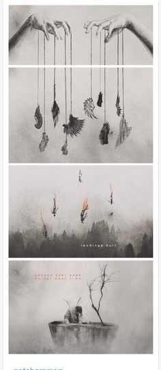 This is beautiful! Credit goes to strange-enchanted.tumblr.com follow her! :)