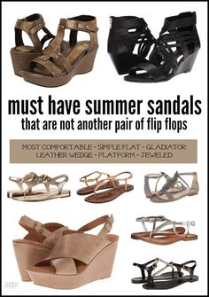 Must Have Sandals for Mom - That Are Not Flip Flops 82bc1cd390804