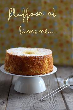 Chiffon cake: al limone e al cocco