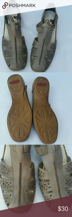 Rieker antistress shoes In excellent condition.  Size 37 ( European ). rieker Shoes Flats & Loafers