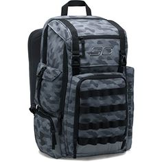 d178c04e70f cool Men s Under Armour SC30 Backpack Basketball Bag Steel Black Size One  Size Wrestling Shoes
