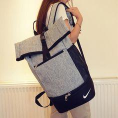 """Nike"" Large-Capacity Sport Travel Bag School College Backpack Laptop Bag"