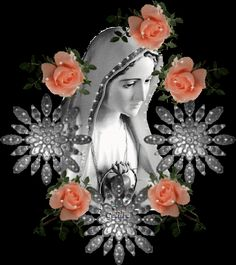 Religious Pictures, Jesus Pictures, Religious Icons, Religious Art, Blessed Mother Mary, Blessed Virgin Mary, Hail Holy Queen, Lady Of Lourdes, Jesus Christ Images