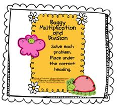 Buggy Multiplication and Division -- Freebie