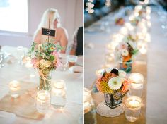 Wedding Flowers: Bold Retro Vintage Flowers and Decor at Smokey Glen Farm » Sweet Root Village Blog