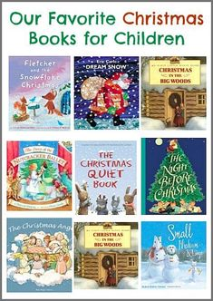 Favorite Christmas Books for Kids Our Favorite Christmas Books for Children (Lots of great picture books for the holiday season!) ~Our Favorite Christmas Books for Children (Lots of great picture books for the holiday season! Christmas Books For Kids, Childrens Christmas, Preschool Christmas, Preschool Books, Books For Boys, Christmas Activities, Christmas Themes, Book Activities, Holiday Fun