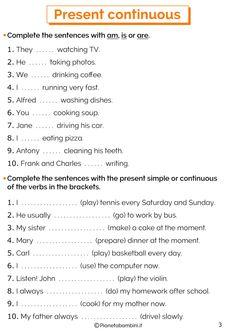 English Teaching Materials, Teaching English Grammar, English Worksheets For Kids, Spanish Language Learning, Grammar Lessons, English Vocabulary, Grammar Rules, Learning English, English Verbs