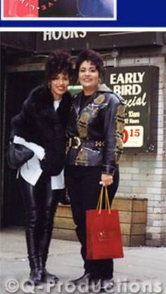 Selena and Suzette getting ready for '94 Grammys