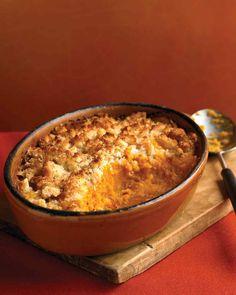 Тыквенный Гратен и соусом из сыра Пекорино