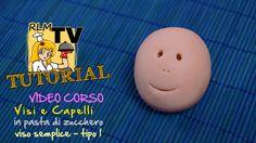 #VIDEO #CORSO: #Visi e #capelli in #pdz - Viso semplice - tipo 1