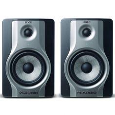 M Audio BX6 Carbon (Pair) Compact Studio Monitors