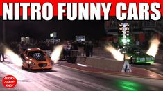 2017 Funny Car Nationals Nitro #Drag Racing World's Fastest 1/4 Mile