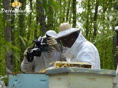 Andrés Landa y el equipo de Latitud al Sur en octubre de 2011 filmó nuestro apiario