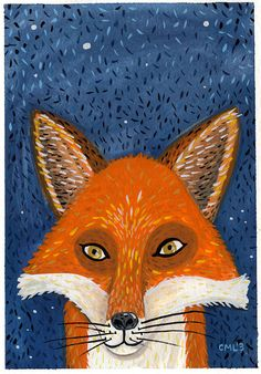 Image of Red Fox Portrait