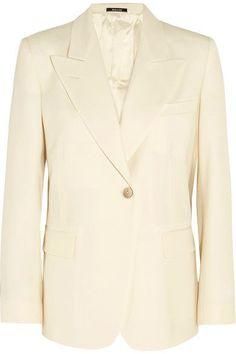 Maison Margiela - Wool-blend Blazer - Cream - IT38