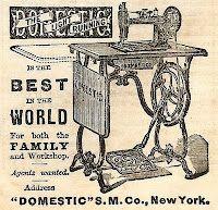 Sewing Machine Advertisement