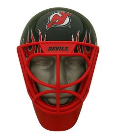 Another great find on #zulily! New Jersey Devils Goalie Fan Mask by Foamheads #zulilyfinds