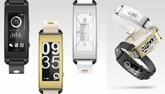Lenovo Vibe Band - want!! Fitness tracking, attractive design, even smartphone notifications! too bad it's not being released in the US (?) and I can't find much info on it (may 22 2015)