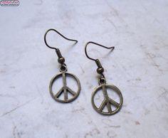 Ohrringe Peace Vintage Hippie