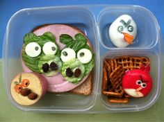 Feeling a Little Lunchy: Angry Birds Lunch