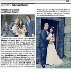 Feldkirch, Wedding Bells, Getting Married, Rome