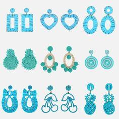 Blue Boho Fashion Summer Colorful Earrings Regular price $8.88 Boho Fashion Summer, Crochet Necklace, Colorful, Earrings, Blue, Coral, Ear Rings, Stud Earrings, Ear Piercings