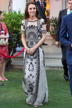 1d79513cb94 Kate Middleton reminded us all why she s a princess in this dreamy Gucci  gown