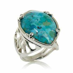 Studio Barse Kingman Turquoise Sterling Silver Ring