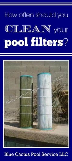 How often should you clean your pool filters? Above Ground Pool, In Ground Pools, Swimming Pool Filters, Swimming Pools, Hot Tub Deck, Pool Care, Pool Service, Pool Maintenance, Pool Cleaning